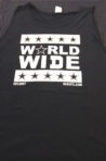 Mens World Wide Muscle Tee