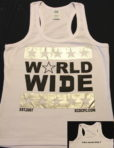 Women's World Wide Tee (White)